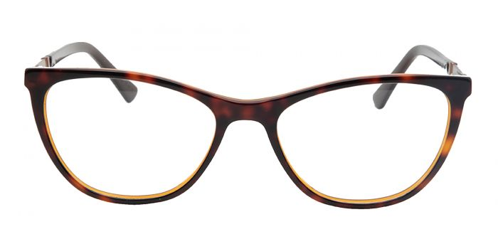 Brown Cat Eye Acetate Frame - Progressive Standard